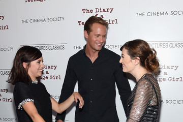 Alexander Skarsgard Sony Pictures Classics with the Cinema Society Host a Screening of 'The Diary of a Teenage Girl'
