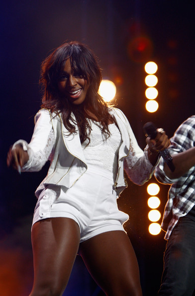 Alexandra Burke Isle Of Wight Festival 2011 Day 1