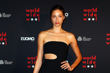 Alexandra Agoston L'Uomo Vogue and Woolmark Company Gala Cocktails