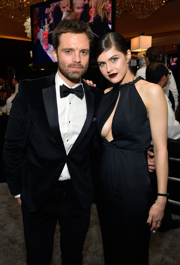 Alexandra Daddario @ Golden Globes After Party in Los Angeles – 01/07/2018