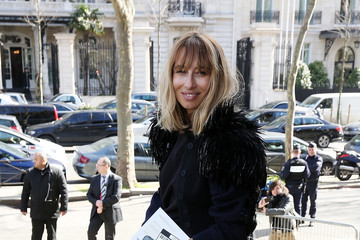 Alexandra Golovanoff Arrivals at the Miu Miu Show
