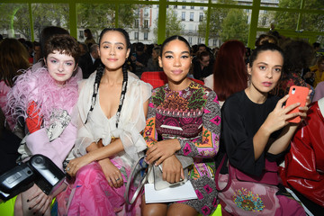 Alexandra Shipp Valentino : Front Row -  Paris Fashion Week - Womenswear Spring Summer 2020