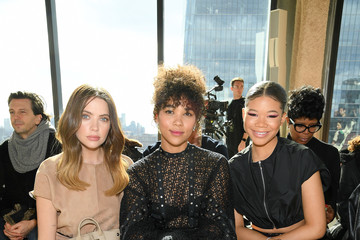 Alexandra Shipp Longchamp Fall/Winter 2020 Runway Show - Front Row