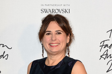 Alexandra Shulman The Fashion Awards 2016 - Winners Room