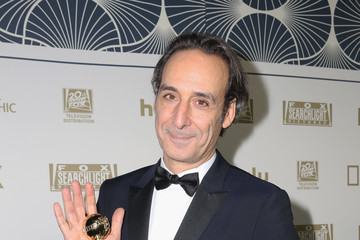 Alexandre Desplat Hulu's 2018 Golden Globes After Party - Arrivals