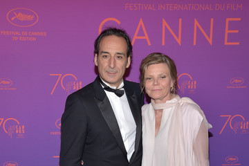 Alexandre Desplat Opening Gala Dinner Arrivals - The 70th Annual Cannes Film Festival