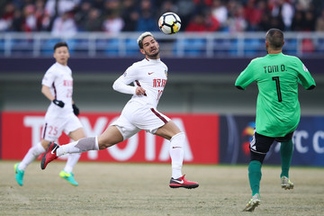 Alexandre Pato Tianjin Quanjian v Ceres-Negros - 2018 AFC Champions League Qualifying