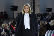 Model Eva Herzigova walks the runway during the Alexandre Vauthier Haute Couture Spring/Summer 2020 show as part of Paris Fashion Week on January 21, 2020 in Paris, France.