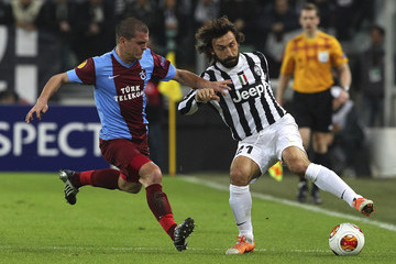 Alexandru Bourceanu Juventus v AS Trabzonspor