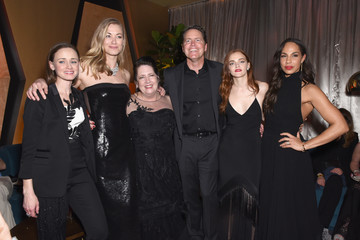 Alexis Bledel Ann Dowd FOX, FX, and Hulu 2018 Golden Globe Awards After Party - Inside