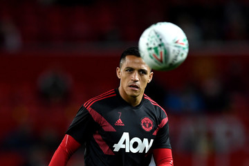 Alexis Sanchez Manchester United v Derby County - Carabao Cup Third Round