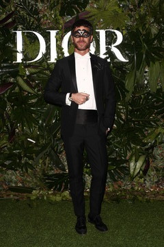 Alfonso Bassave Dior Ball: Photocall In Madrid