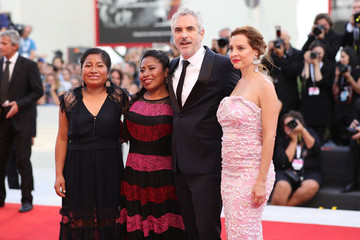 Alfonso Cuarón Roma Red Carpet Arrivals - 75th Venice Film Festival