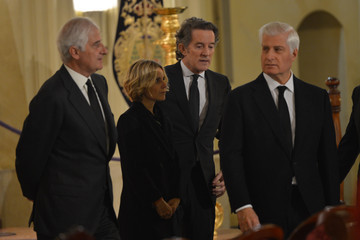 Alfonso Diez Alfonso Martinez de Irujo y Fitz-James Stuart Funeral Held for the Duchess of Alba