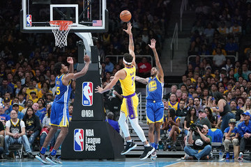 Alfonzo McKinnie Los Angeles Lakers v Golden State Warriors