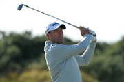 Former South African cricketer Jacques Kallis (Am), plays his tee shot to the 2nd during the Alfred Dunhill Links Championship previews at Kingsbarns Golf Links on October 4, 2016 in St Andrews, Scotland.