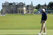 Matt Kuchar of The United States on the first green during previews prior to the 2018 Alfred Dunhill Links Championship at The Old Course on October 2, 2018 in St Andrews, Scotland.