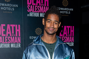 Alfred Enoch 'Death Of A Salesman' At Piccadilly Theatre - Press Night