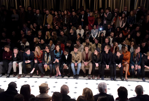 Burberry Prorsum: Front Row and Show