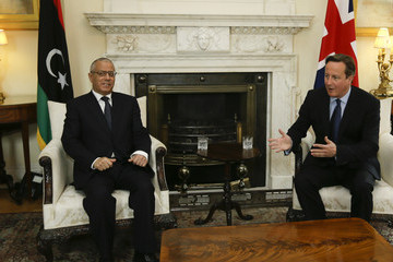 Ali Zeidan David Cameron Meets with Ali Zeidan — Part 2