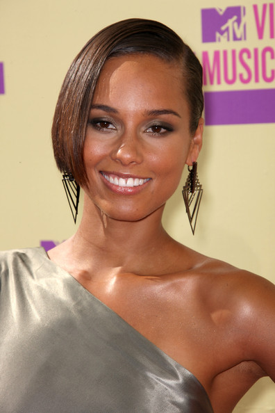 Alicia Keys - 2012 MTV Video Music Awards - Arrivals