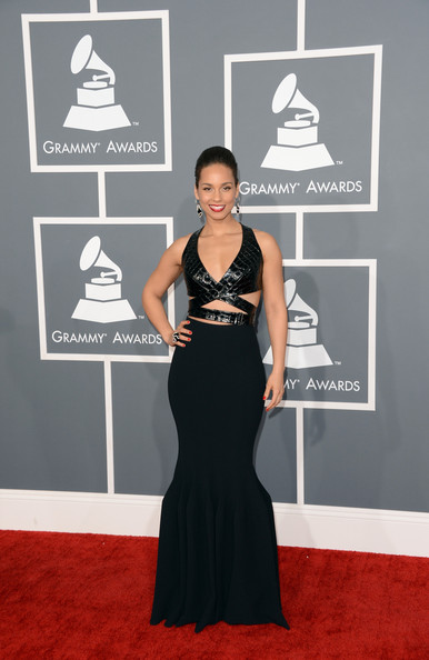 Alicia Keys - The 55th Annual GRAMMY Awards - Arrivals