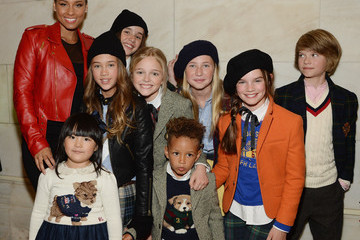 Alicia Keys Ralph Lauren Fall 14 Children's Fashion Show In Support Of Literacy