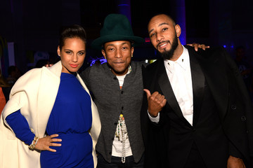 Alicia Keys Pharrell Williams Celebrates 41st Birthday With SpongeBob SquarePants Themed Party - Inside