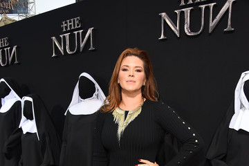 Alicia Machado Premiere Of Warner Bros. Pictures' 'The Nun' - Red Carpet