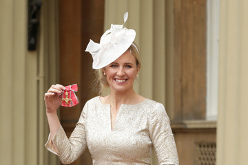 Alison Balsom Investitures At Buckingham Palace