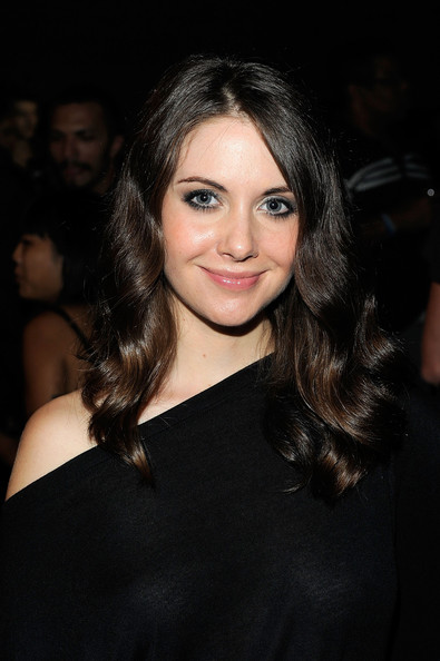 Alison Brie Actress Alison Brie attends the Y3 Spring Summer 2011