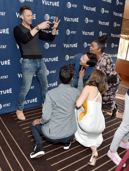 Vulture Festival Los Angeles 2019 - Day 2 [talent show,event,photography,danny pudi,alison brie,yvette nicole brown,joel mchale,ken jeong,vulture festival,los angeles,hollywood roosevelt hotel,california]