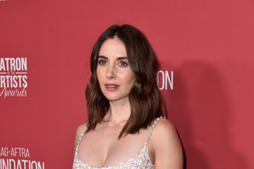 Alison Brie SAG-AFTRA Foundation's 3rd Annual Patron Of The Artists Awards - Arrivals