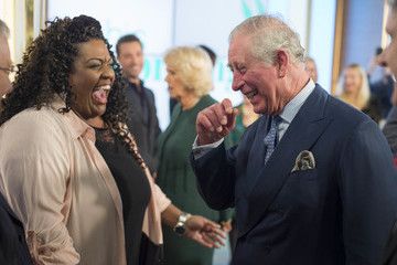 Alison Hammond The Prince of Wales and the Duchess of Cornwall Visit the Royal Television Society