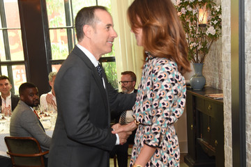 Alison Loehnis GOOD+ Foundation & MR PORTER Host Fatherhood Lunch With Jerry Seinfeld in New York City