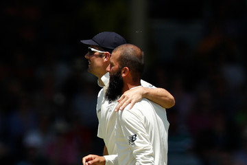Alistair Cook Australia v England - Third Test: Day 3