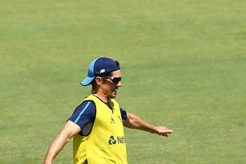 Alistair Cook England Nets Session