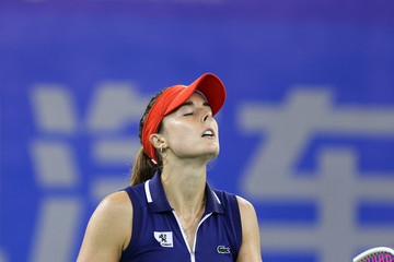 Alize Cornet 2017 Wuhan Open - Quarter Final