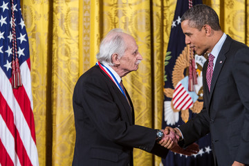 Allen J. Bard Obama Honors Winners Of The  Nat'l Medal Of Science, Technology, Innovation