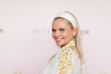 Alli Simpson Celebrities Attend Moet And Chandon Spring Champion Stakes Day
