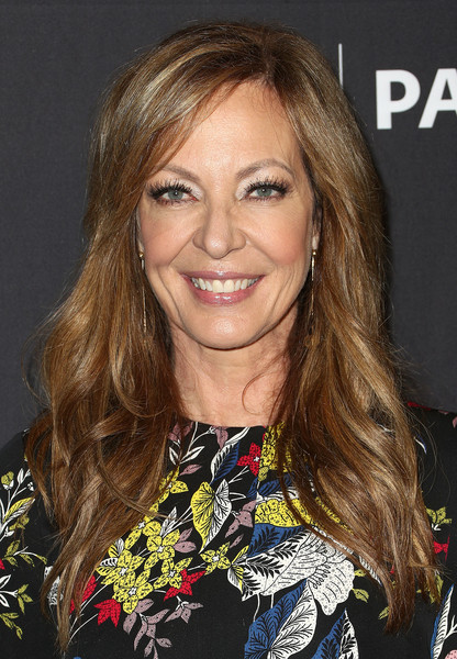 The Paley Center For Media's 35th Annual PaleyFest Los Angeles - 'Mom' - Arrivals [television show,hair,blond,hairstyle,human hair color,beauty,eyebrow,chin,long hair,layered hair,fashion model,mom,allison janney,arrivals,los angeles,dolby theatre,california,paley center for media,paleyfest,cbs]