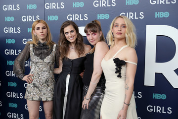 Allison Williams Jemima Kirke The New York Premiere of the Sixth and Final Season of 'Girls' - Red Carpet