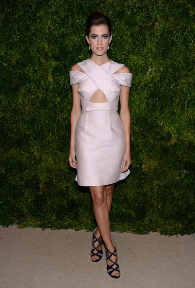 Allison Williams - The Ninth Annual CFDA/Vogue Fashion Fund Awards - Inside Arrivals