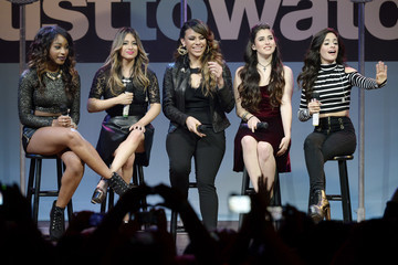 Ally Brooke Camila Cabello MTV Artist to Watch Kickoff Event — Part 2