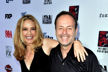 """Ally Walker Premiere Screening Of FX's """"Sons Of Anarchy"""" - Red Carpet"""