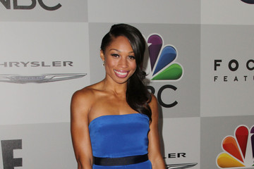 Allyson Felix Stars at the NBC Universal's Golden Globes Afterparty