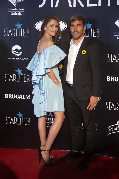 Starlite Festival 2019 [suit,premiere,fashion,carpet,formal wear,event,red carpet,tuxedo,flooring,style,marbella,spain,starlite festival 2019,starlite gala,almudena fernandez,aritz aranburu]