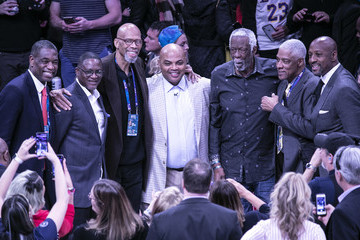 Alonzo Mourning Celebrities Attend The 2019 NBA All-Star Saturday Night