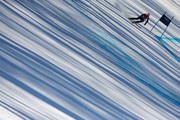 Chemmy Alcott of Great Britain in action during the Alpine Skiing Women's Super-G on day 8 of the Sochi 2014 Winter Olympics at Rosa Khutor Alpine Center on February 15, 2014 in Sochi, Russia.
