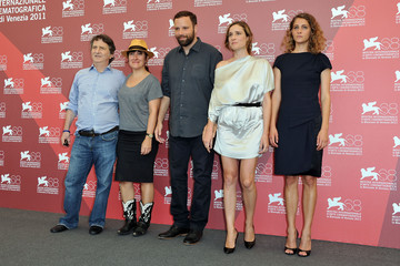"Aggeliki Papoulia Ariane Labed ""Alpis"" Photocall - 68th Venice Film Festival"
